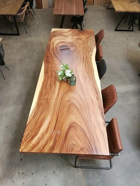 Amerikanische Walnuss 112x335 cm
