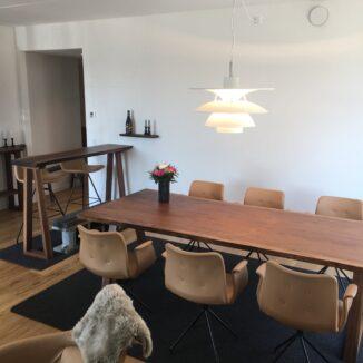 Plank Tisch - Amerikanischer Walnuss