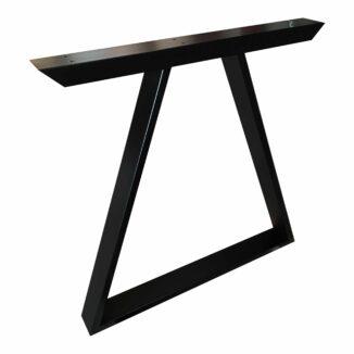 Dreieckige Rahmenbeine für Esstische und Holztische