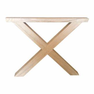 Tischbeine Querbeine aus Eiche oder Esche