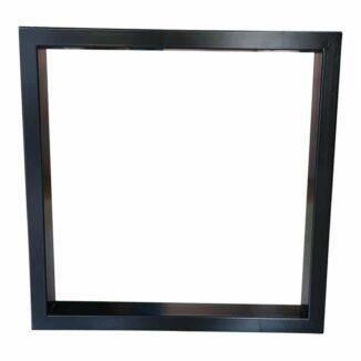Tischbeine - Rahmenrahmen aus schwarz oder weiß pulverbeschichtetem Stahl.