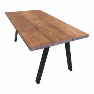 Brennholz Plank Tisch Walnuss