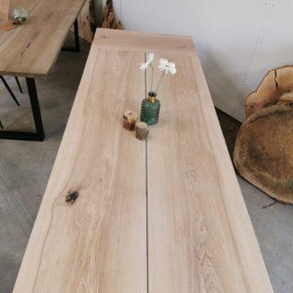 Plank Tischasche mit Weißöl