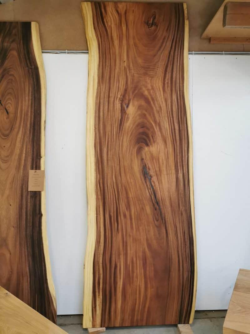 Plankentisch Amerikanische Walnuss 110x335 cm