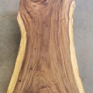 Plankentisch - Südamerikanische Walnuss - 94-80-101 x 260 cm