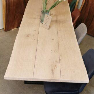 Plankebord eg med hvid olie (1)