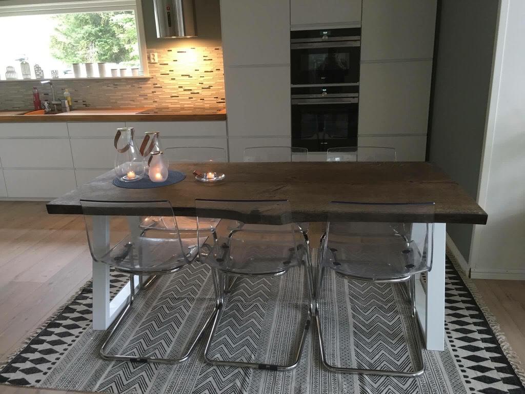 flaaedeeg ibenholt-olie plankebord